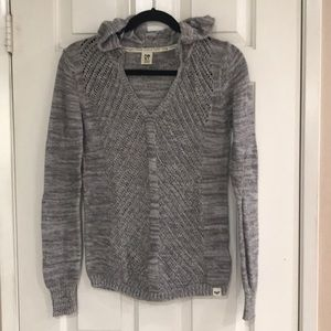 Roxy knitted hoodie
